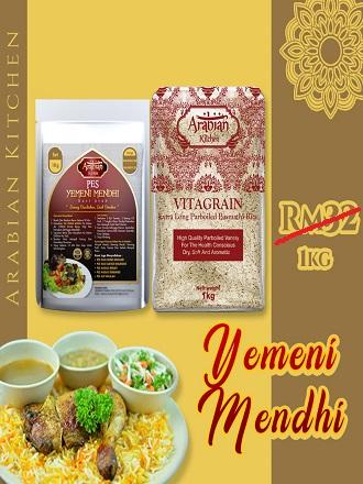nasi arab 1 kilo