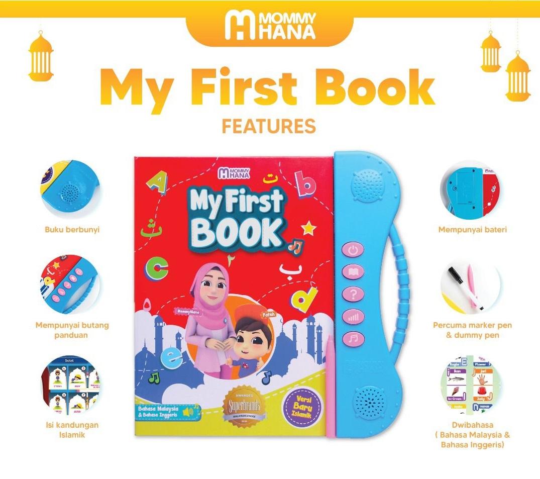 my fisrt book